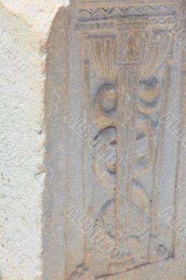 Fragment of an antique column