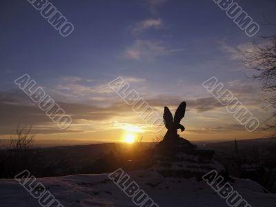The Eagle. Pyatigorsk emblem.