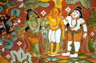 old telugu painting