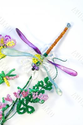Bead dragonfly