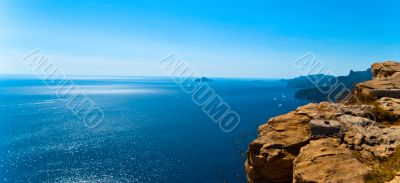 South France seascape