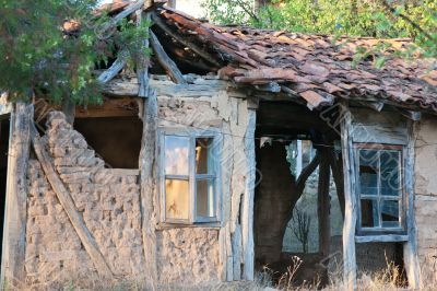 Ancient house in Bulgaria