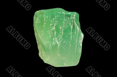 Green mineral calcite