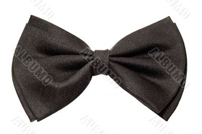 male black bow tie