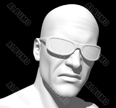 white head