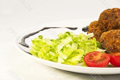 composed dish