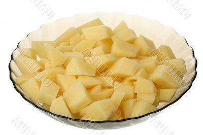 Cleared potato