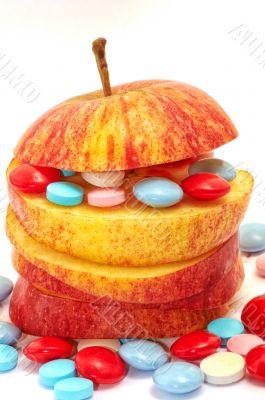 Apple and vitamins