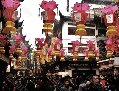 Spring Festival Lanterns in China
