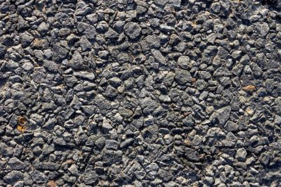 Road surface close-up