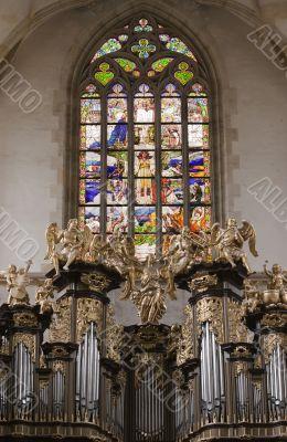 Saint Barbara church - Organ Loft