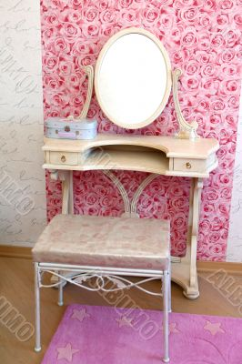 Young lady`s room