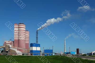 Factory of mineral fertilizer