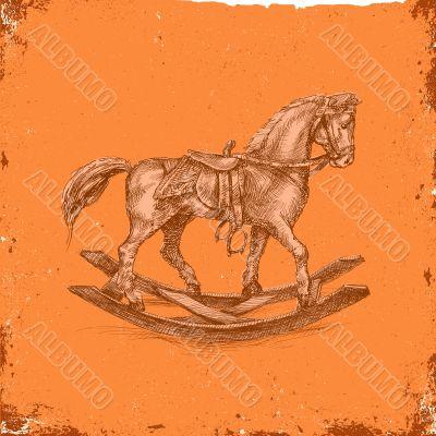 Rocking chair-horse_High quality
