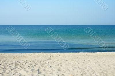 Sky. Sea. Sand