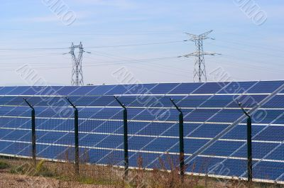 cattle sheds solar power station