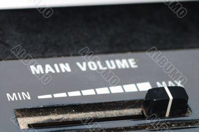 main volume loudness