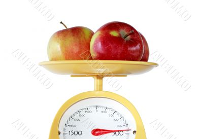 Apples Weighing