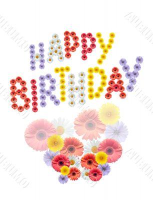 Flowers Birthday Greetings