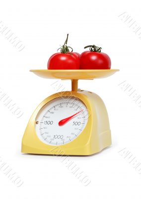 Tomatoes Weighing