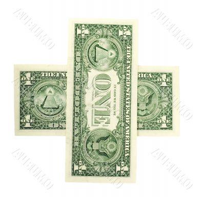 sign plus dollar