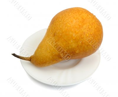 Pear, isolated