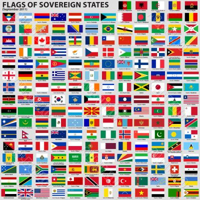 Flags of Sovereign States