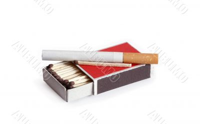 Cigarette And Matches