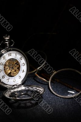 Pocket Watch And Spectacles
