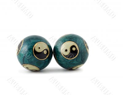 zen-like chinese balls