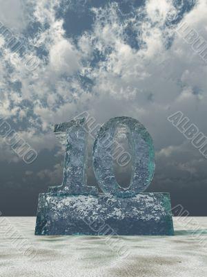 frozen number ten