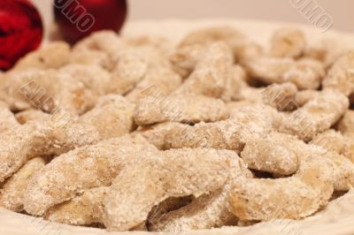 Christmas Cookies on a Dish
