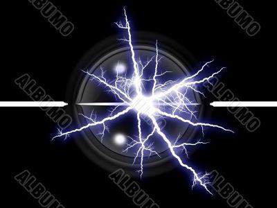 lightning and ball