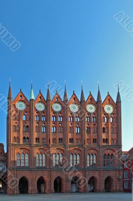 Stralsund - Rathaus  - Hanseatic City Hall