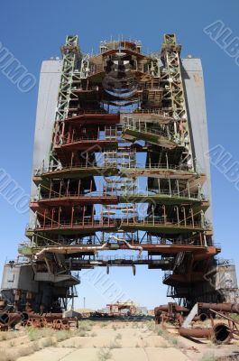 Abandoned Mobile Service Tower