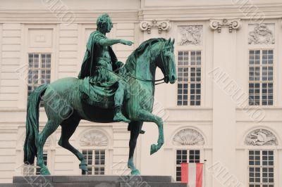 equestrian monument vienna