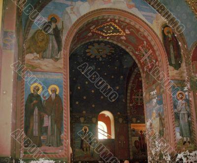 New Aphon monastery. Abhazia republic