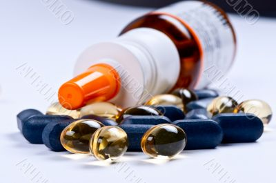 Nasal spray and pills