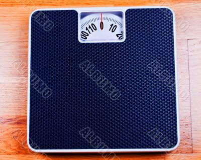 Bathroom Scale close up