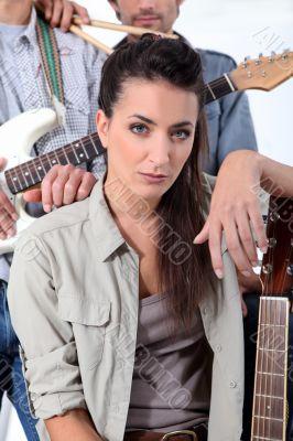 Guitar based rock band