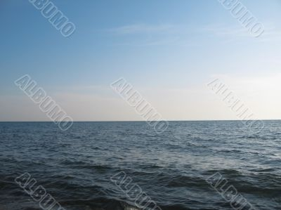 Seashore of the Black sea. Summer journey
