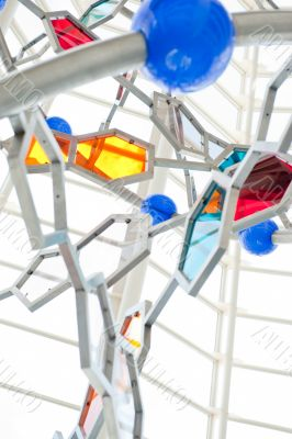 VALENCIA, SPAIN - SEPTEMBER 17: DNA stand at Museum of Science a
