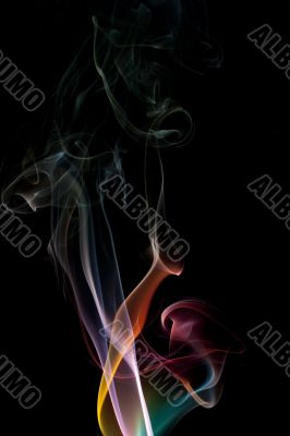 abstract smoke colours