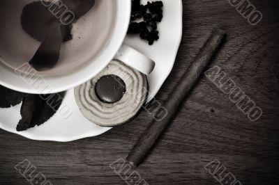 Traditional english luxury breakfast