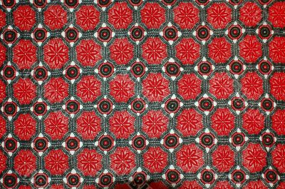 Red tiled texture
