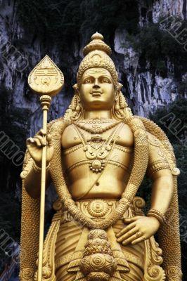 Batu caves are a hindu temple