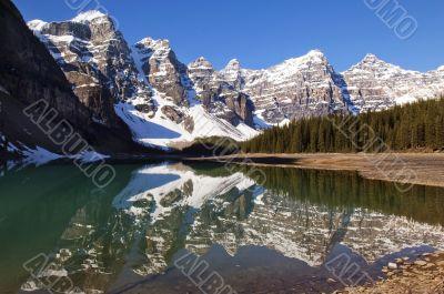Lake Moraine,Banff National Park