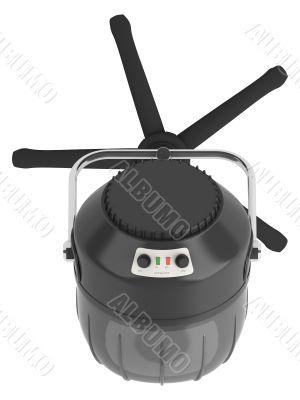 Stand salon hair dryer