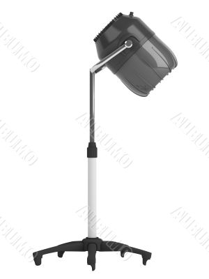 Stand salon hair dryer