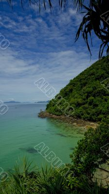 Tropical beach, Koh Kradan Islands